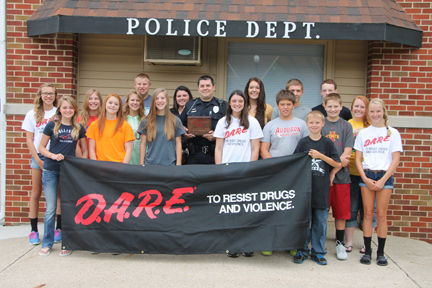 Starmer Named D.A.R.E. Officer of the Year