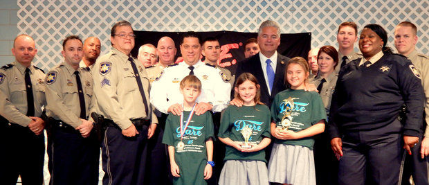 Nearly 400 fifth graders graduated the fall semester D.A.R.E. program taught by St. Bernard Sheriff's Office