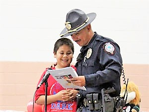 Cocopah Tribal Police Department graduates first D.A.R.E. class
