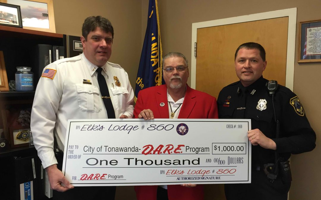 Balling Heads D.A.R.E Program in City of Tonawanda