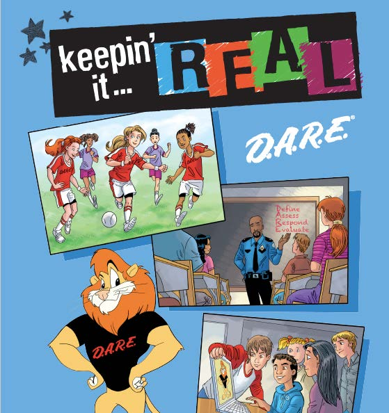 D.A.R.E.'s keepin' it REAL Elementary Curriculum Alignment with New Jersey Core Curriculum Content Standards
