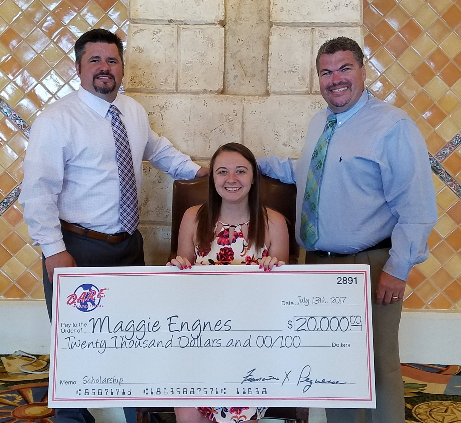 Maggie Engnes, 2017 D.A.R.E. America National Scholarship Awardee