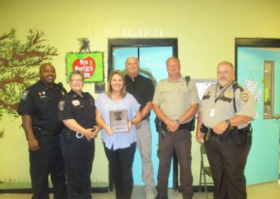 2018 Mississippi D.A.R.E. Classroom Educator of the Year: Ms. Klista Martin, Itawamba Attendance Center