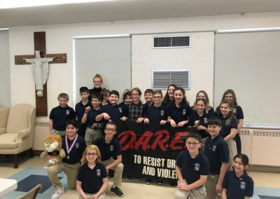 Butler, PA D.A.R.E. at Holy Sepulcher School