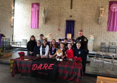 Butler, PA D.A.R.E. at St. Wendelin Catholic School