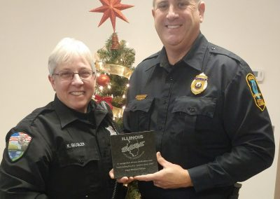 Chief Michael Phillips recognized for 20 years of dedicated service to the D.A.R.E Program