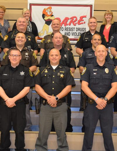 Indiana D.A.R.E. Officer Training 2018 Class