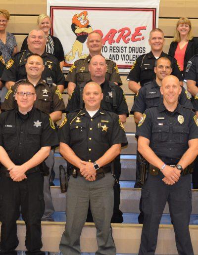 Indiana D.A.R.E. Officer Training 2018 Class