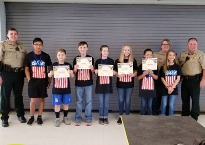 Mooreville Middle School D.A.R.E. Essay Winners