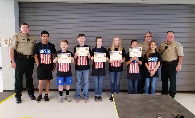 Mooreville Middle School D.A.R.E. Essay Winners