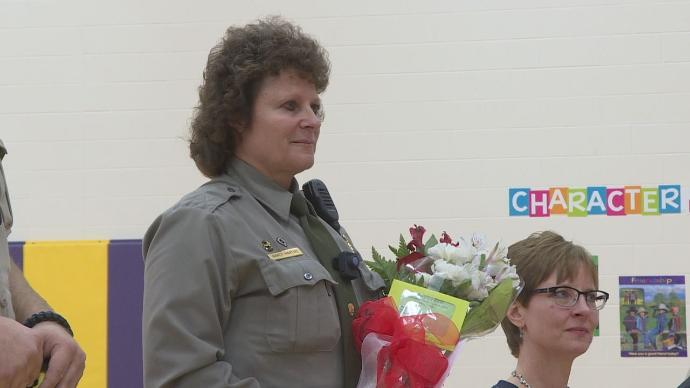 Longtime D.A.R.E. Officer Retires from Custer Elementary