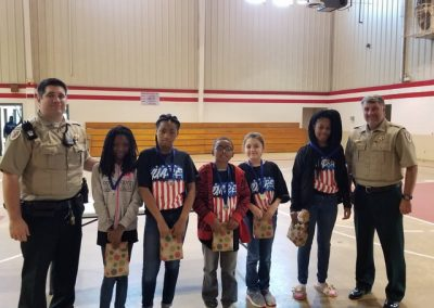 Plantersville Junior High D.A.R.E. Essay Winners