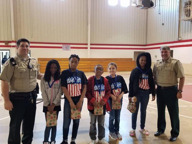 Plantersville Junior High D.A.R.E. Essay Winners