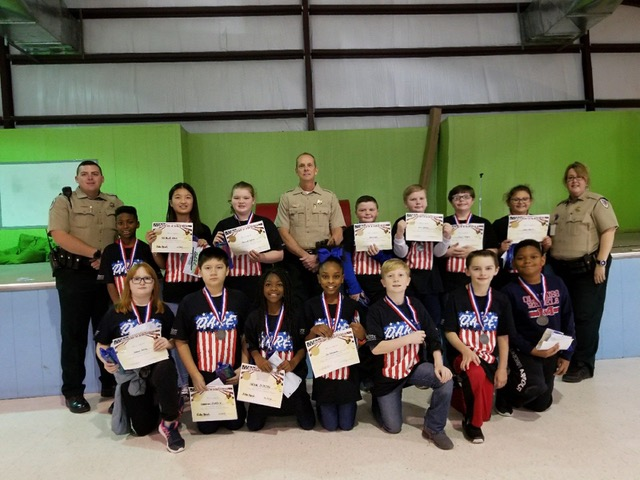 Saltillo Elementary School D.A.R.E. Essay Winners