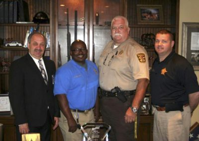 School Resource Officer Anthony Bartley Earns Award