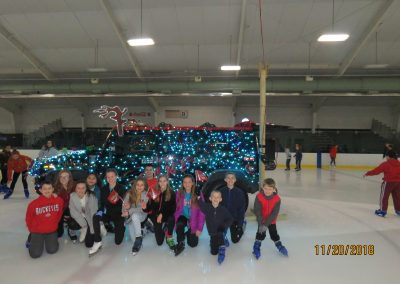 Strongsville, Ohio Police Department D.A.R.E. Ice Skating Party, November 20, 2018