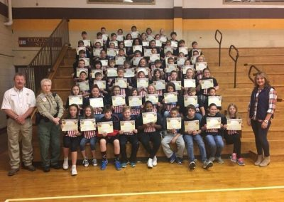 Union County Sheriff's Office D.A.R.E. Graduation 2018