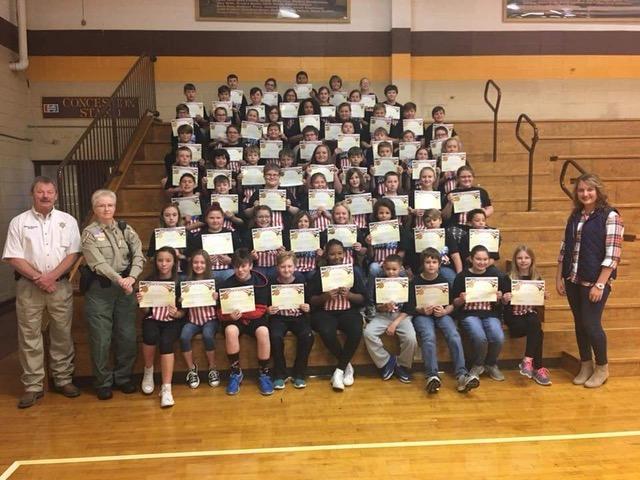 Union County Sheriff's Office D.A.R.E. Graduation 2018