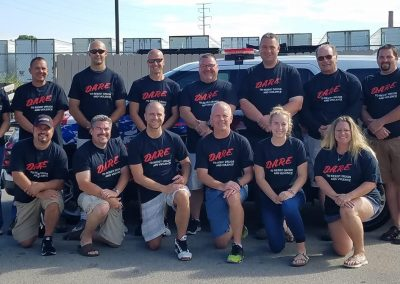 Wisconsin D.A.R.E. Officers' Association Board of Directors 2018