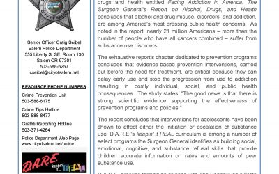 Salem D.A.R.E. Newsletter June 2017