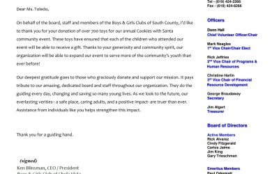 KARE Donation to the Boys & Girls Club of Chula Vista