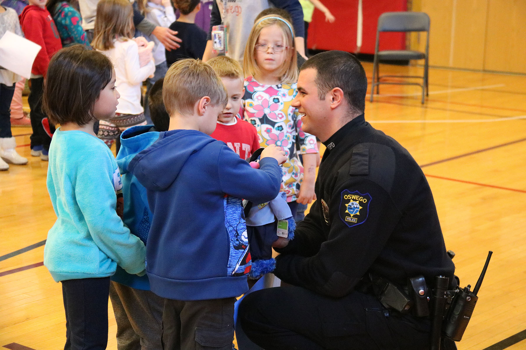 'Awesome Role-Model' OPD Officer Honored At Kingsford's Citizenship Awards
