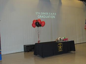 D.A.R.E. Graduation 2016 at Calverton School
