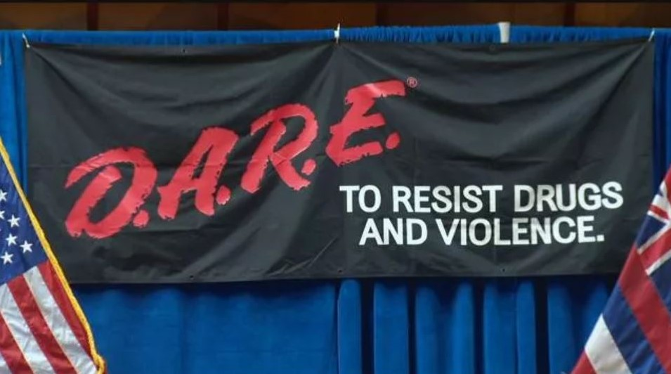 Thirty Years of D.A.R.E. Celebrated in Hawaii on October 29th