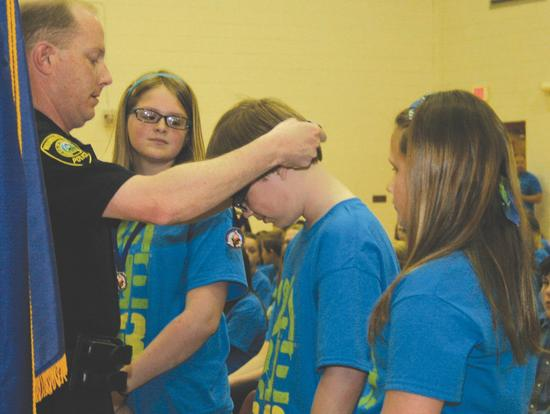 Students Graduate from D.A.R.E. Program