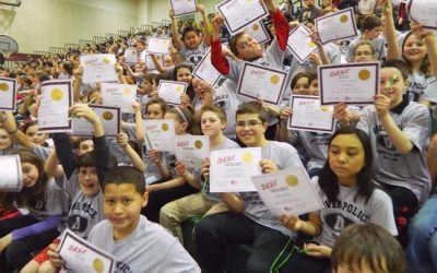 D.A.R.E. Graduates Honored During Ceremony