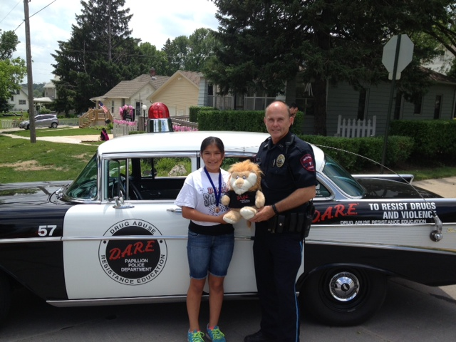Ella Pelletier, 2014 Papillion, NE D.A.R.E. Pledge Contest Winner