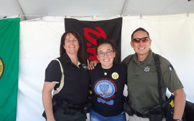Washington YAB Representative Danielle Littrell at the Benton County Fair