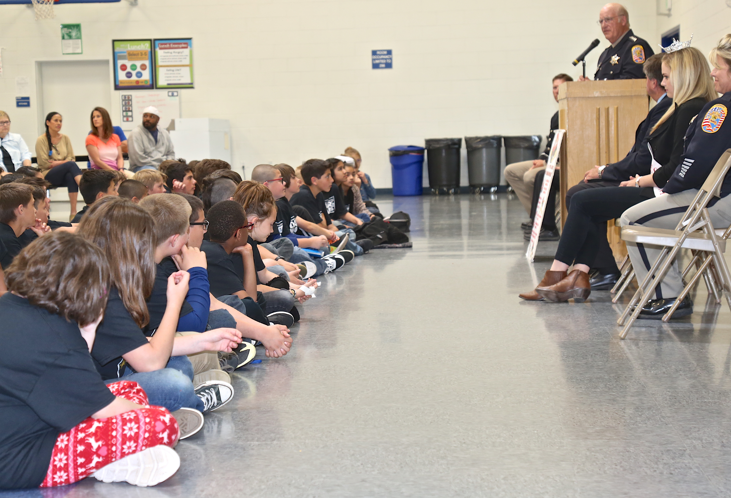 Students Vow to Make Healthy Choices