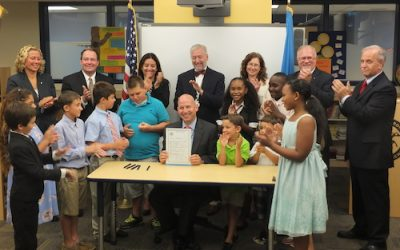 Governor Signs Bill to Accelerate, Enhance School Safety Efforts