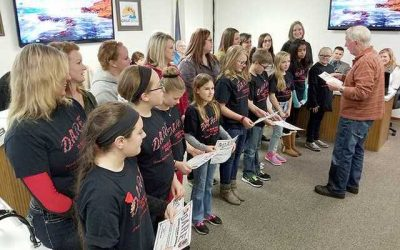 D.A.R.E. Essay Winners Honored by City Council
