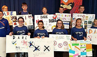 Lisbon Fifth Graders Complete D.A.R.E. Program