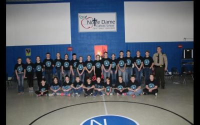 ND Sixth Grade Students Graduate From D.A.R.E.