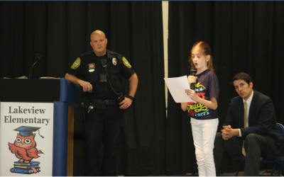 Lakeview Students Learn About Drug Perils in D.A.R.E. Program