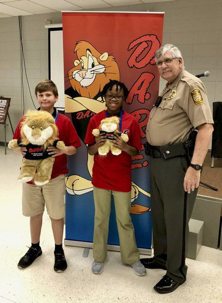 Highland Christian Academy Holds D.A.R.E. graduation