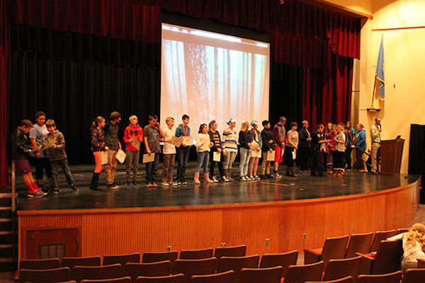 Spearfish 7th Graders Celebrate D.A.R.E. Graduation