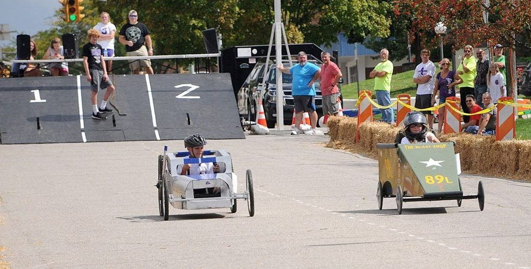 It's All Downhill from Here: Speed Thrills Drivers at Annual Soap Box Derby