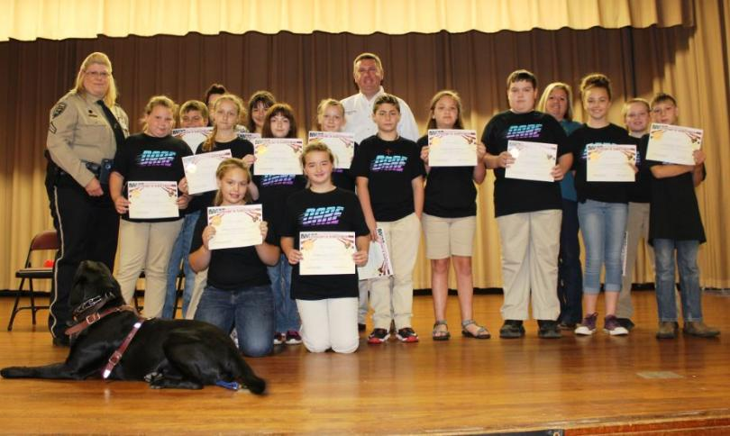 Georgetown Fifth Grade Students Successfully Graduate D.A.R.E.