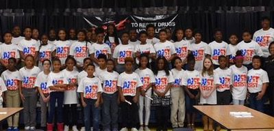 Hopkins Elementary School D.A.R.E. Graduation