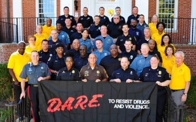 Maryland's 32nd D.A.R.E. Officer Training Graduates
