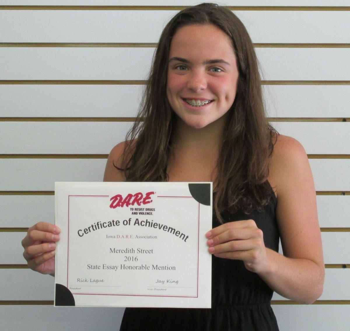 Street Receives Runner-Up Honors