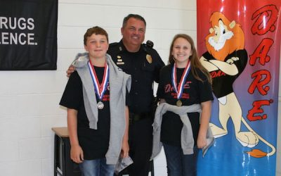 5th Graders Graduate from D.A.R.E Program