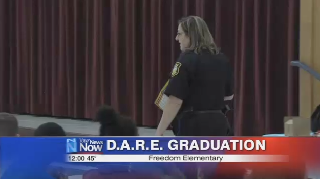 Fourth Graders at Freedom Elementary Graduate from D.A.R.E. program