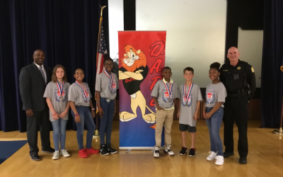 Harbison West Elementary School (Columbia, SC) D.A.R.E. Graduation