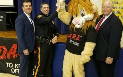 Manville Schools Welcome Back D.A.R.E. Program