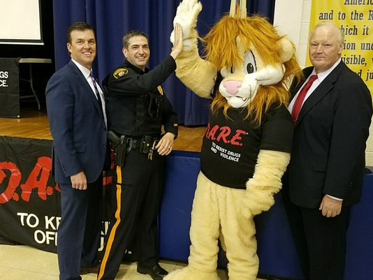 Manville Schools Welcome Back D.A.R.E. Program